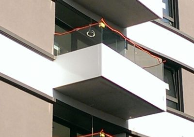 Trianon balconies