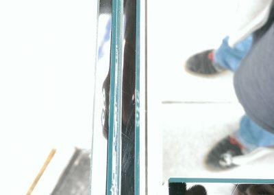 Glass Double Floor