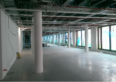BGL-BNP Paris-bas Kirchberg Luxembourg 32500 m2 2015 Installation and site management