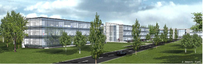 Permasteelisa - Belgo Control Zaventem-Airport Brussel Belgium 4 buildings